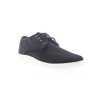 Ben Sherman Payton Oxford  Mens Black Low Top Lifestyle Sneakers Shoes