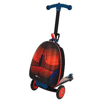 Marvel Spiderman 3-in-1 Scootin' Suitcase MV Sports Ages 3 Years+
