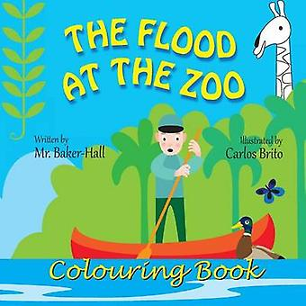 The Flood at the Zoo Colouring Book by BakerHall & Mr.