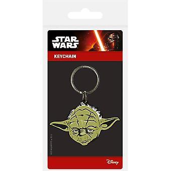Star Wars Yoda gumový klíček