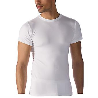 Mey 42503-101 Men's Software White Solid Colour Short Sleeve Top