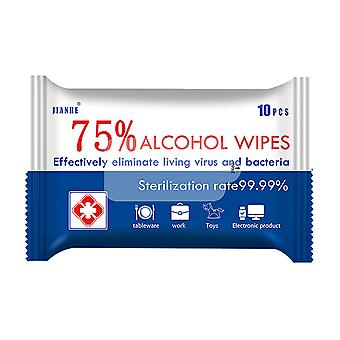 Alcohol wipes, 75% alcohol, sterile wipes sterile gauze pads, individually packaged, can be used for outdoor skin cleaning