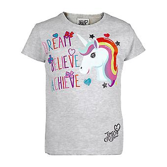 JoJo Siwa Dream Believe Achieve Unicorn Girls T-Shirt | Officiële merchandise