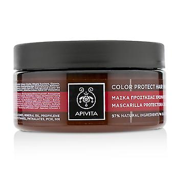 Color protect hair mask with sunflower & honey (for colored hair) 200ml/6.75oz
