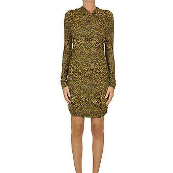 Isabel Marant Ezgl287034 Women's Yellow Viscose Dress