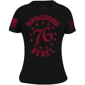 Grunt Style Women's Old Fashioned Rebel T-Shirt - Black