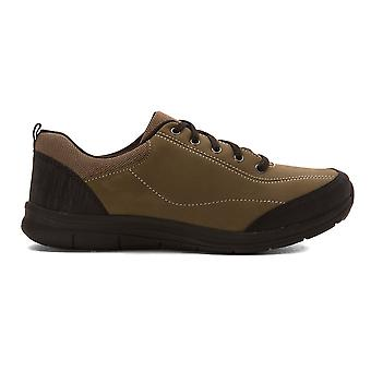 Easy Spirit Womens Solana Leather Low Top Lace Up Running Sneaker