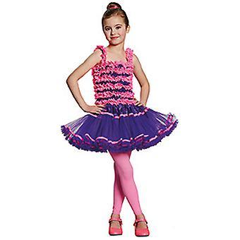 Ballerina purple pink kids costume for girl dancer