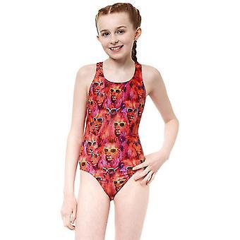 Costum de baie Pentru Copiiăs Ypsilanti Cool Catz Rave Back Multicolor/14-16 ani (UE) - 32 (Marea Britanie)