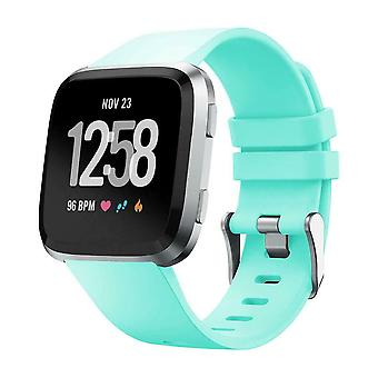 """Replacement Silicone Band Strap Bracelet for Fitbit Versa 2/Versa Lite/Versa[Large Fits Wrist 7.1"""" - 8.7"""",Teal]"""