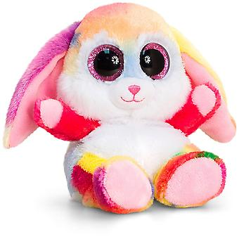 Keel Toys Animotsu Rainbow Rabbit