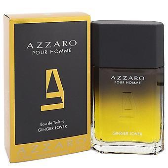 Azzaro Ginger Love Eau De Toilette Spray par Azzaro 3.4 oz Eau De Toilette Spray