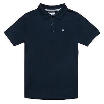 Boy's Farah Infant Bugsworth Polo Shirt in Blue