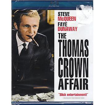 Thomas Crown Affair (1968) [BLU-RAY] USA import