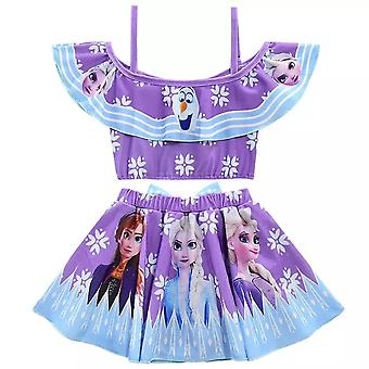Elsa Anna Bathing Suit, Infant