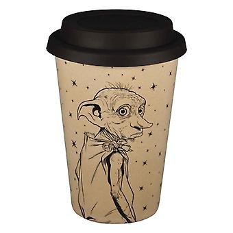 Harry Potter Travel Mug Dobby is a free Elf Huskup new Official