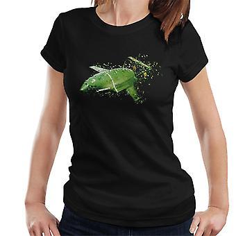 Thunderbirds Shattered Thunderbird 2 Effect Women's T-Shirt