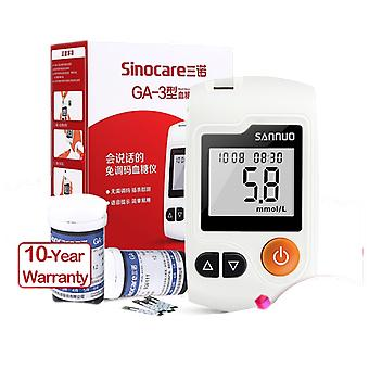 Glucometer Diabetes Blood Glucose Meter & Test Strips / Lancets Glm - Medical Blood Sugar Meter