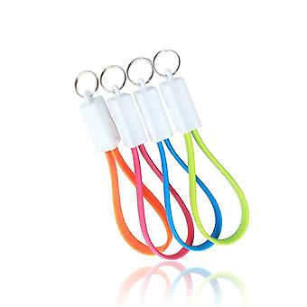2 stk for 1! Micro USB/Android - charger key chain USB cable portable!