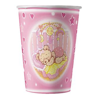Baby Dreams Pink 200cc Paper Party Cups