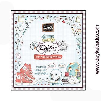 DayKa Trade School 8x8 Inch Paper Pad