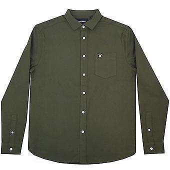 Lyle and Scott Vintage Shirts Brushed Twill Shirt