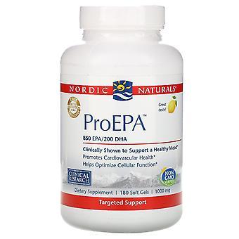 Nordic Naturals, ProEPA, Citron , 1 000 mg, 180 Softgels
