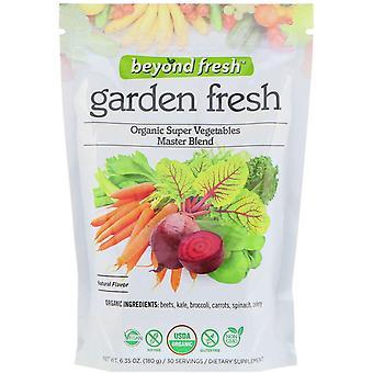 Beyond Fresh, Garden Fresh, Organic Super Vegetables Master Blend, Natural Flavo