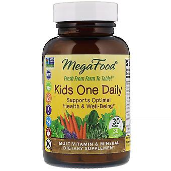 MegaFood, Kids One Daily, 30 tabletten