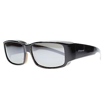 نظارات شمسية Unisex P8301/S 09Q/OD أسود/بني مع مرآة الزجاج