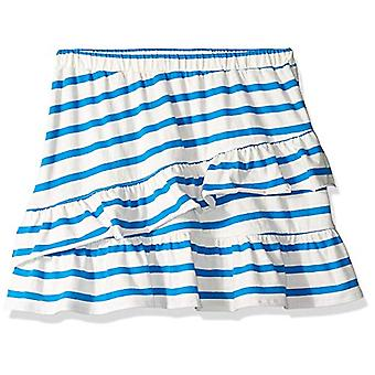 / J. Crew Brand- LOOK by Crewcuts Girls' Knit Ruffle Skirt, Blue Stripe...