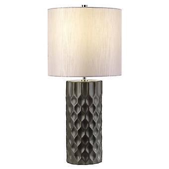 Elstead Barbican - 1 Lys bordlampe Grafit, E27