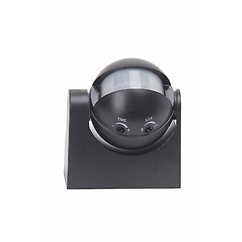 BRILLIANT Lampa Sensorn Rörelsedetektor Svart |  | Skala A++ till E | IP-skydd: 44 - stänksäkert