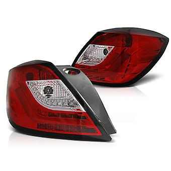 LUCI POSTERIORI OPEL ASTRA H 03 04-09 3D GTC ROSSO LED