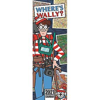 Missä Wally Slim Kalenteri 2021