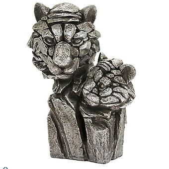 Natural World Tiger Bust Figurine By Lesser & Pavey