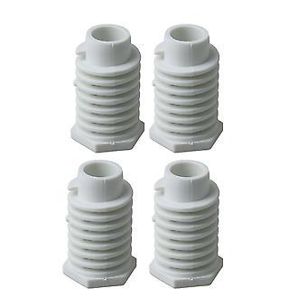4 x Trocknerfüße 49621 Trockner Ersatzteile austauschen 26000688222 279810
