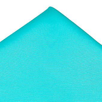 Solmiot Planet Plain Aqua Sininen Silkki Tasku Neliö Nenäliina