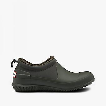 Hunter Original Sherpa Ladies Rubber Shoes Dark Olive