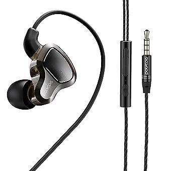 Bakeey Dual Dynamic Wired In-Earphone Stereo Noise Cancelling -kuuloke