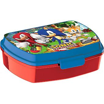 Sonic The Hedgehog Knuckles And Tails Lunchbox