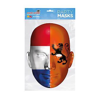 Masque-arade Hollande Drapeau Party Face Masque