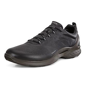 ECCO 837514 Biom Fjuel Men's Lace-up Leather Shoes In Black