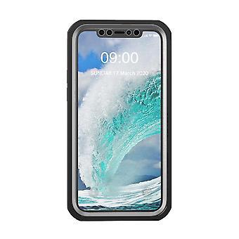 Stöttåligt mobilskal för iPhone 12/12 Pro Svart