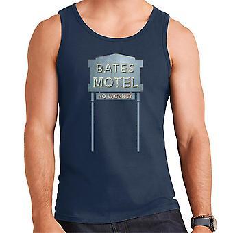 Psycho Bates Motel No Vacancy Men's Vest