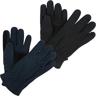 レガッタ大人メンズサーマル屋外ウォーキング冬のマイクロフリース手袋