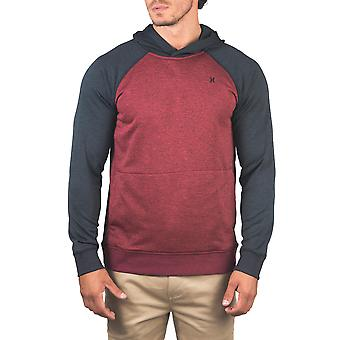 Hurley Dri-Fit Disperse Pullover Hoody in Gym Red