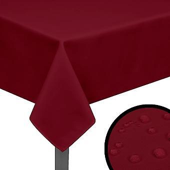 Pöytäliinat 5 kpl Burgundin punainen 250x130 cm