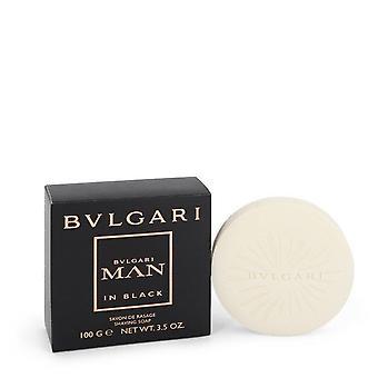 Bvlgari man in black shaving soap by bvlgari 104 ml