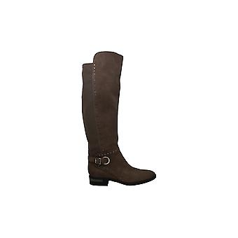 Vince Camuto Women's Shoes Paterra Leather Closed Toe Knee High Fashion Boots
